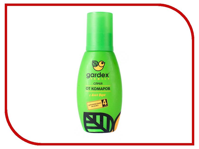 Средство защиты от комаров Gardex Family спрей 100ml