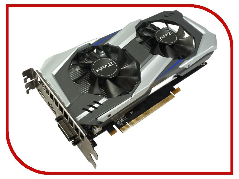 Видеокарта KFA2 GeForce GTX 1060 1518Mhz PCI-E 3.0 3072Mb 8008Mhz 192 bit DVI HDMI HDCP 60NNH7DSL9CK 7124070