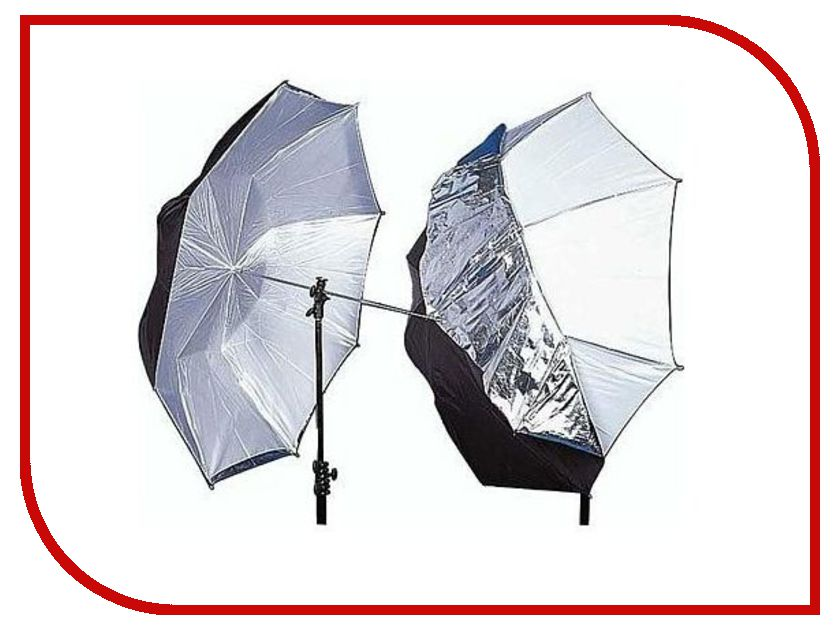 Lastolite Umbrella Dual Duty 100cm LL LU4523F White/Silver/Black авиационном бензине 100 ll