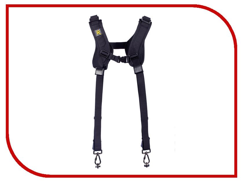 Аксессуар BlackRapid RS DR-2 Double Strap RSD-2BB - двухсторонний плечевой ремень аксессуар blackrapid curve breathe
