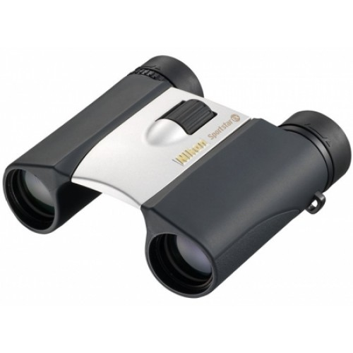 Фото - Бинокль Nikon 10x25 Sportstar EX DCF WP Silver бинокль konus basic 10x25 черный серый