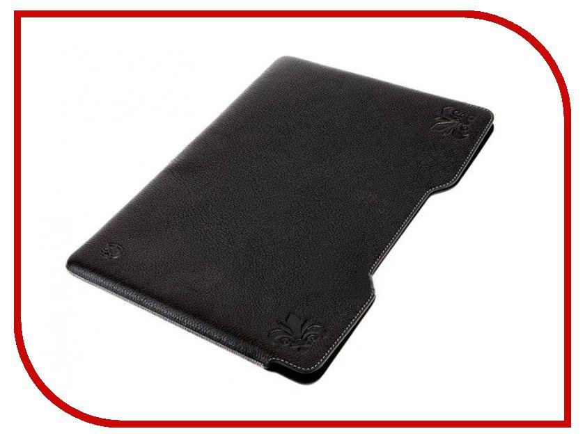 Аксессуар Чехол 11.0 Bonito Zafr MacBook Air кожаный минифлоте Black
