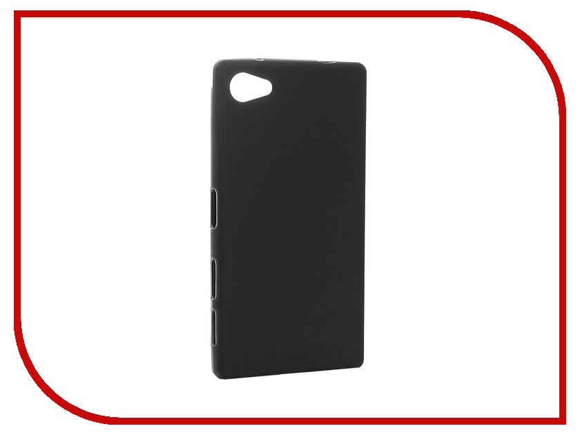 все цены на  Аксессуар Чехол Sony Xperia Z5 Compact / Z5 Mini Cojess Silicone TPU 0.8mm Black Mate  онлайн