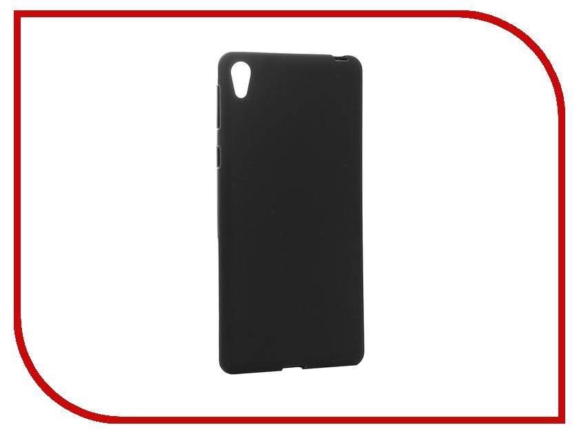 Аксессуар Чехол Sony Xperia E5 Cojess Silicone TPU 0.8mm Black Mate аксессуар чехол samsung galaxy a3 2017 cojess tpu 0 3mm transparent