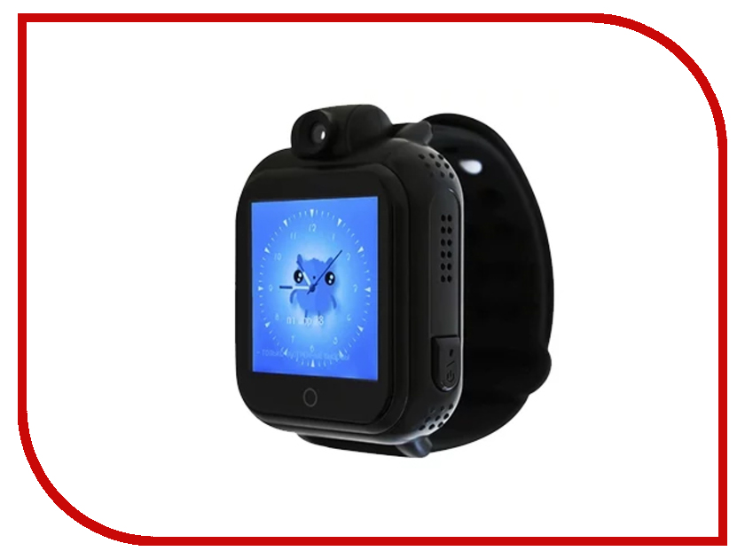 Smart Baby Watch G10 Black z4 smart watch leather strap black
