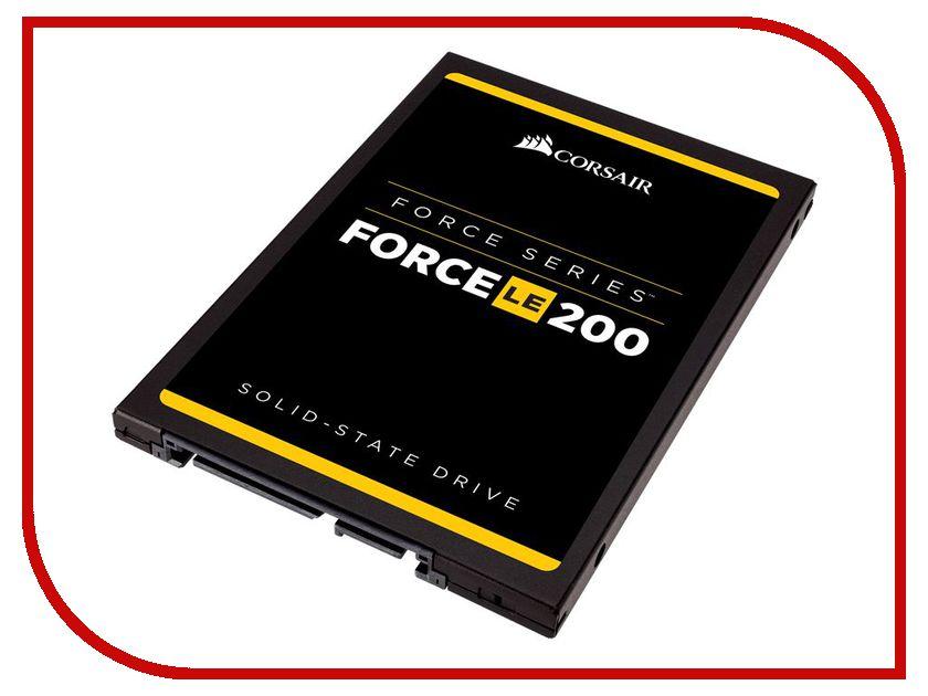 Жесткий диск 120Gb - Corsair Force LE200 CSSD-F120GBLE200C ssd corsair force ls cssd f240gblsb