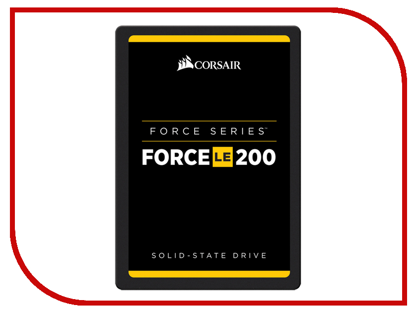 Жесткий диск 240Gb - Corsair Force LE200 CSSD-F240GBLE200C жесткий диск 240gb patriot hellfire ph240gpm280ssdr
