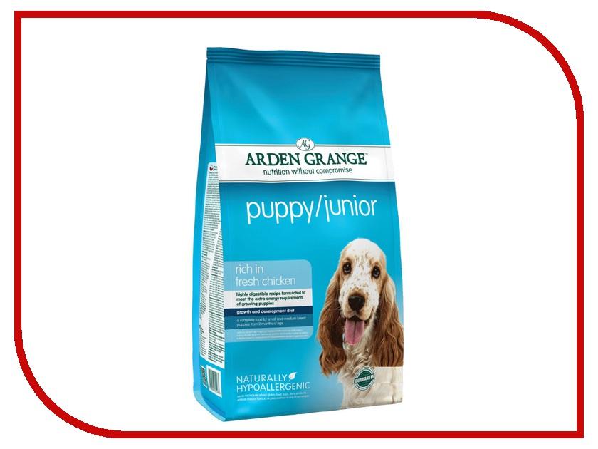 Корм Arden Grange Puppy / Junior 2kg для щенков и молодых собак AG601283<br>