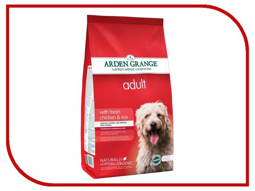 Корм Arden Grange с курицей и рисом 2kg для взрослых собак AG603287 ag605281 arden grange