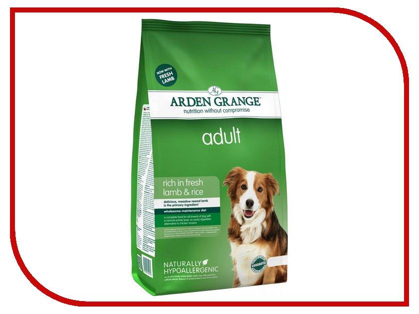 Корм Arden Grange с ягненком и рисом 2kg для взрослых собак AG604284 ag605281 arden grange