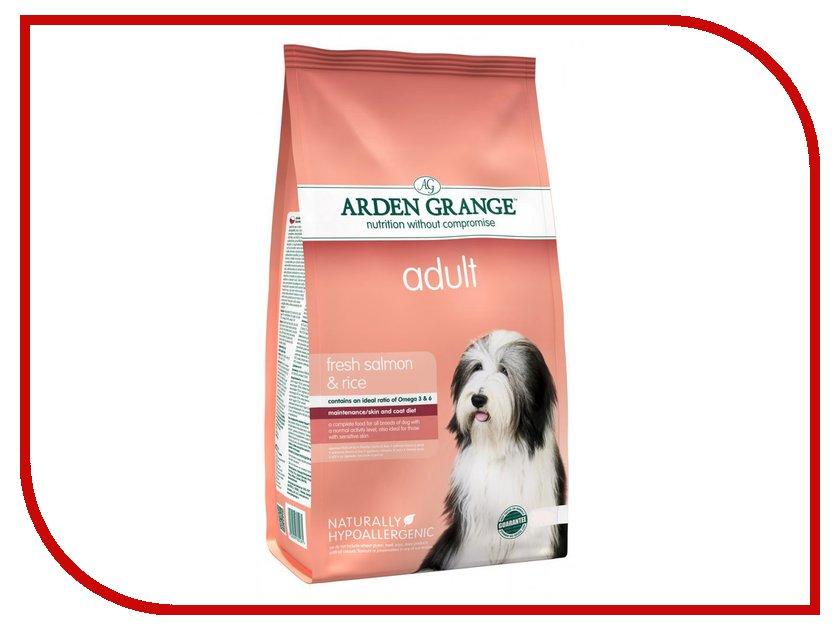Корм Arden Grange с лососем и рисом 2kg для взрослых собак AG605281 ag605281 arden grange
