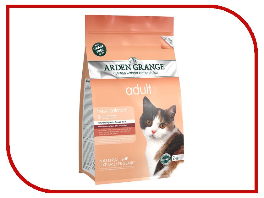 Корм Arden Grange с лососем и картофелем 0.4kg для взрослых кошек AG613231 ag605281 arden grange