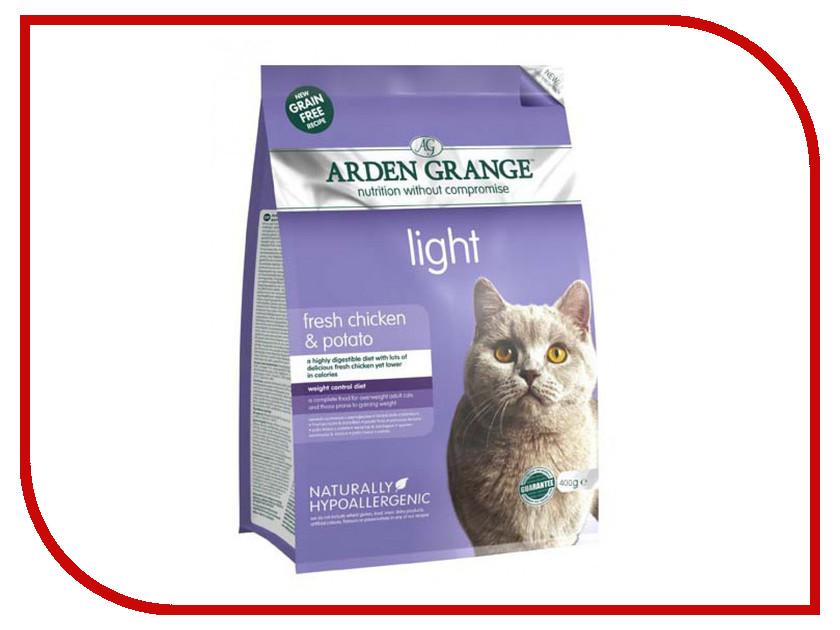 Корм Arden Grange диетический 0.4kg для взрослых кошек AG614238 ag605281 arden grange