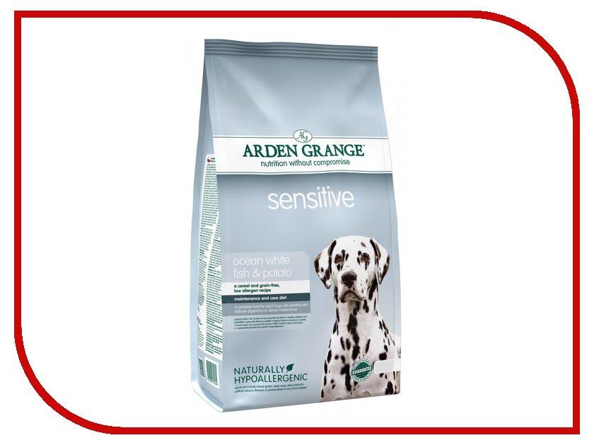 Корм Arden Grange Adult Dog Sensitive 2kg для взрослых собак с деликатным желудком и чувствительной кожей AG617284 ag605281 arden grange