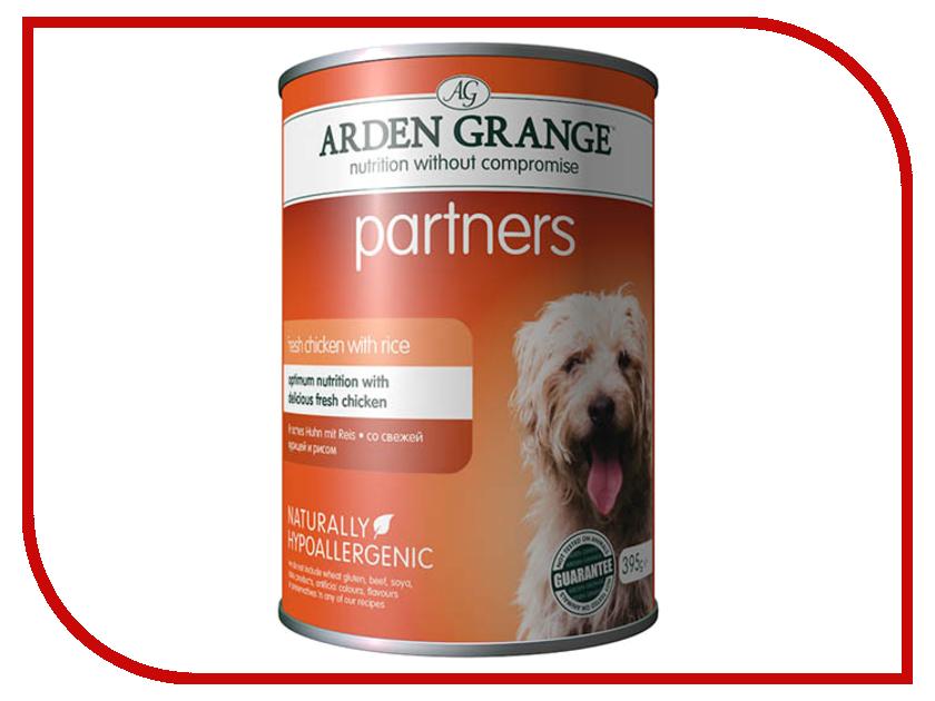 Корм Arden Grange с курицей и рисом 0.395kg для собак AG819015 ag605281 arden grange
