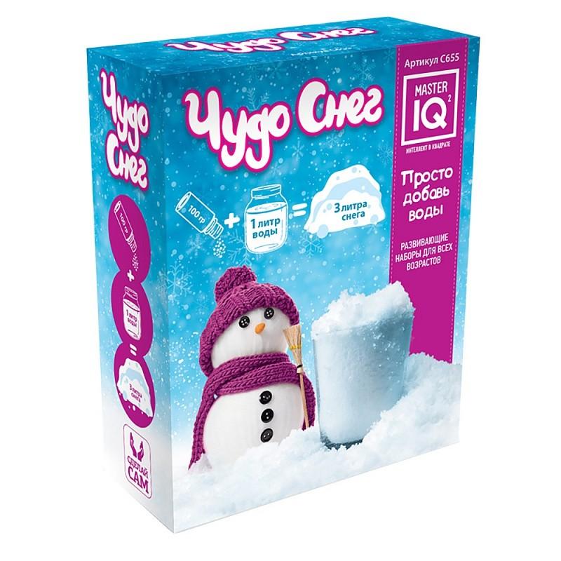Игра Каррас Чудо снег 100г С655 игра каррас неньютоновская жидкость x028