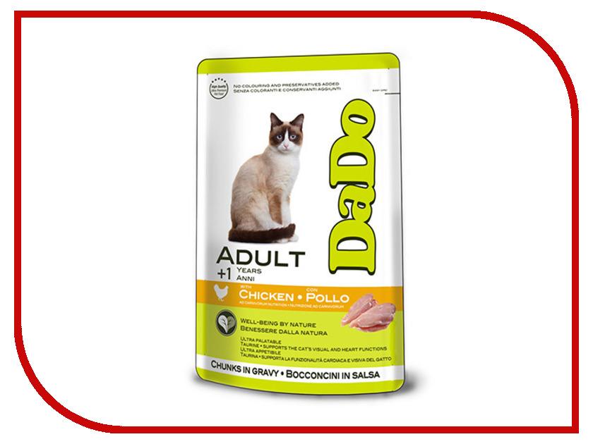 Корм DaDo Пауч с курицей для кошек DD790039 клей активатор для ремонта шин done deal dd 0365