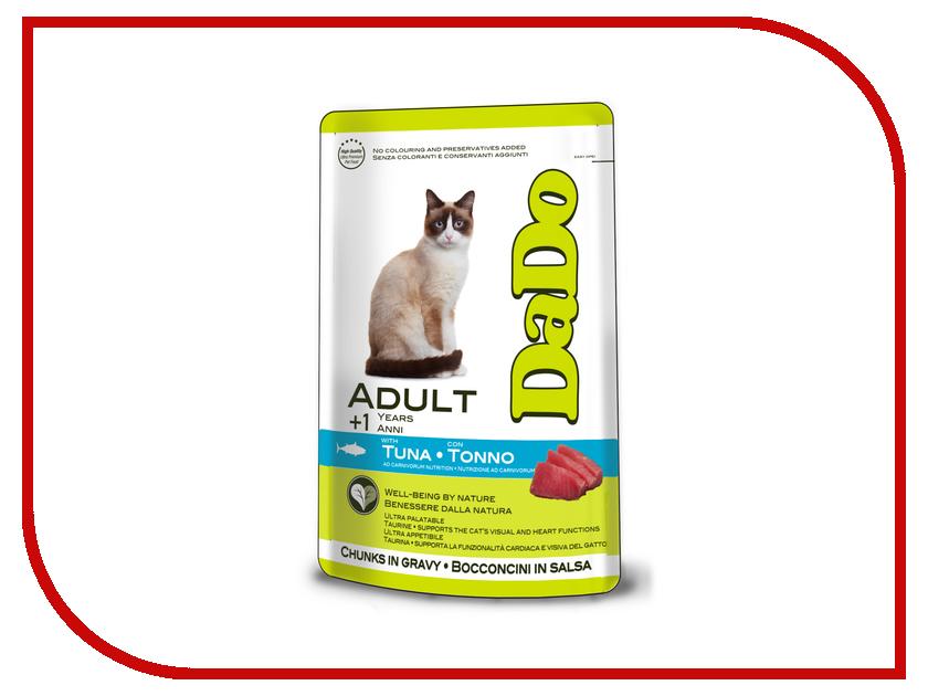 Корм DaDo Пауч с тунцом для кошек DD790053 клей активатор для ремонта шин done deal dd 0365