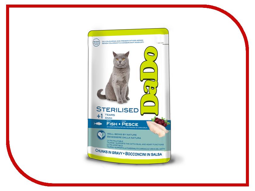 Корм DaDo Пауч с рыбой для стерилизованных кошек DD790077 клей активатор для ремонта шин done deal dd 0365
