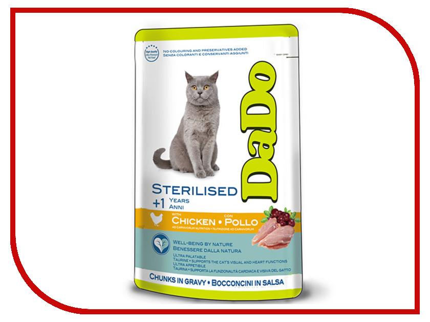 Корм DaDo Курица с ягодами для стерилизованных кошек DD790091 клей активатор для ремонта шин done deal dd 0365
