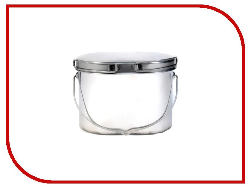 Посуда Роза ветров Котелок низкий 1.3л крышка с ручками Кон-1.3р