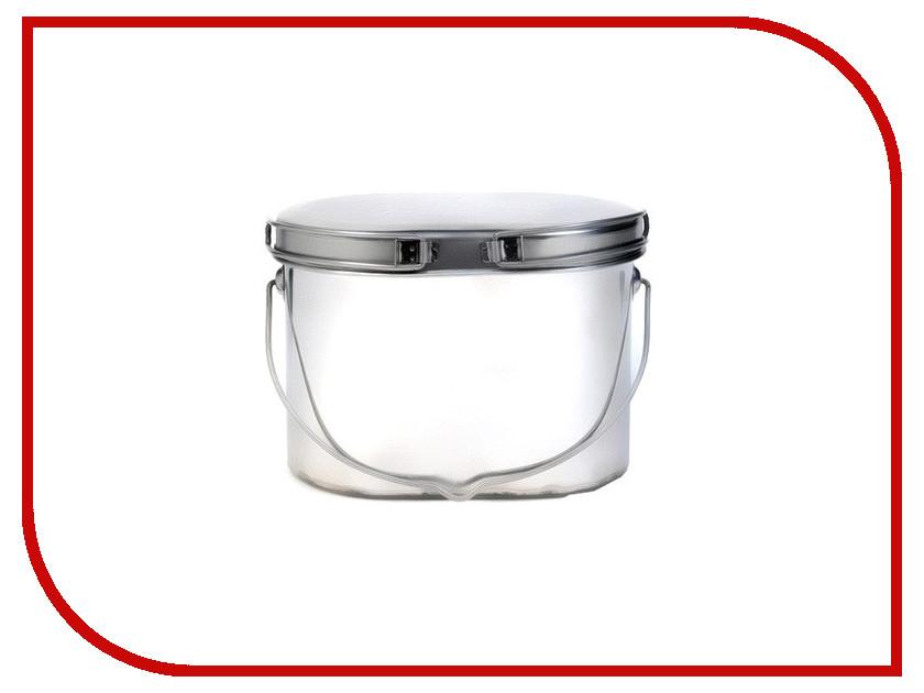 Посуда Роза ветров Котелок низкий 4.5 л крышка с ручками Кон-4.5р