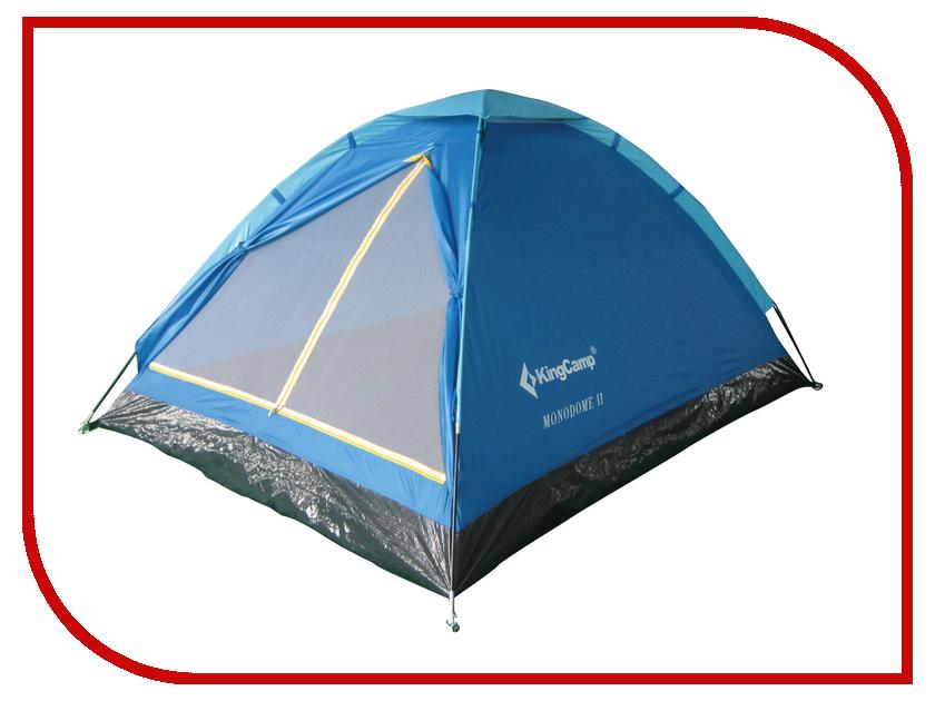 Палатка KingCamp Monodome Fiber 2 Blue<br>