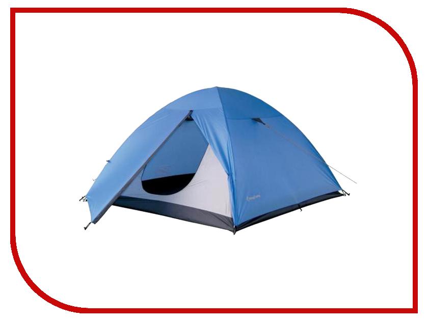 Палатка KingCamp Hiker Fiber 3 Blue