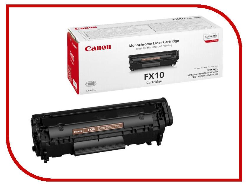 Картридж Canon FX-10 0263B002 Black для L100/L120/MF4018 canon fx 10 для l100 l120 black картридж