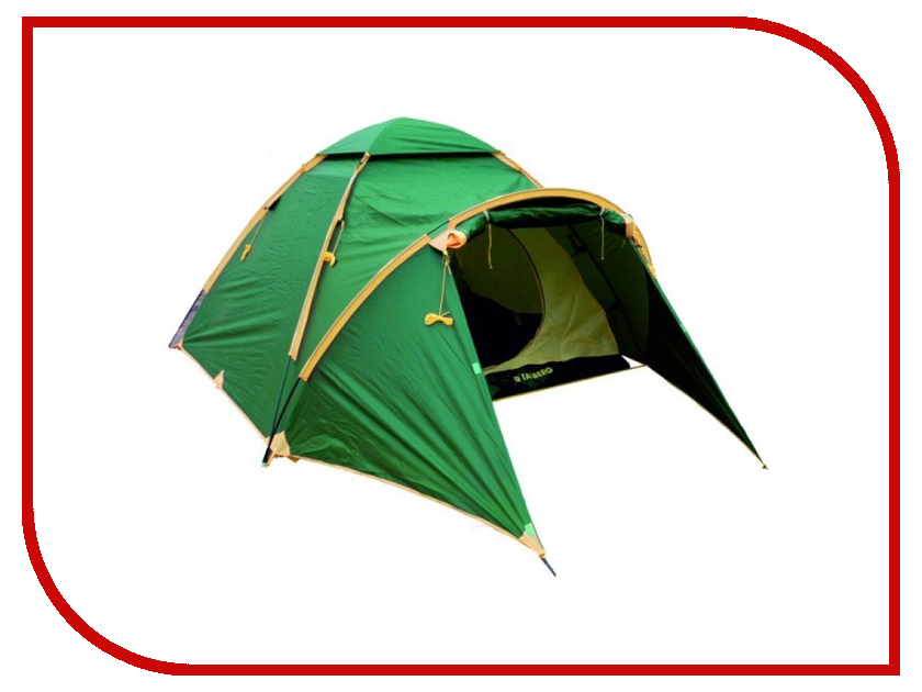 Палатка Talberg Bonzer 3 Green палатка talberg boyard 2 green
