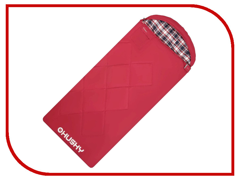 Cпальный мешок Husky Groty R Red плащ husky husky hu011ewqrr50