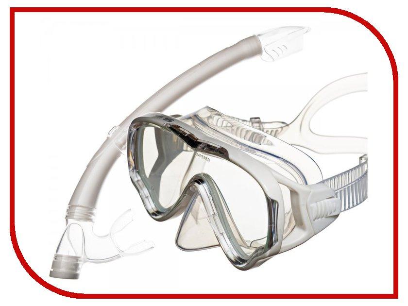 Аксессуар Sargan Маугли маска+трубка White MS10-SP20W