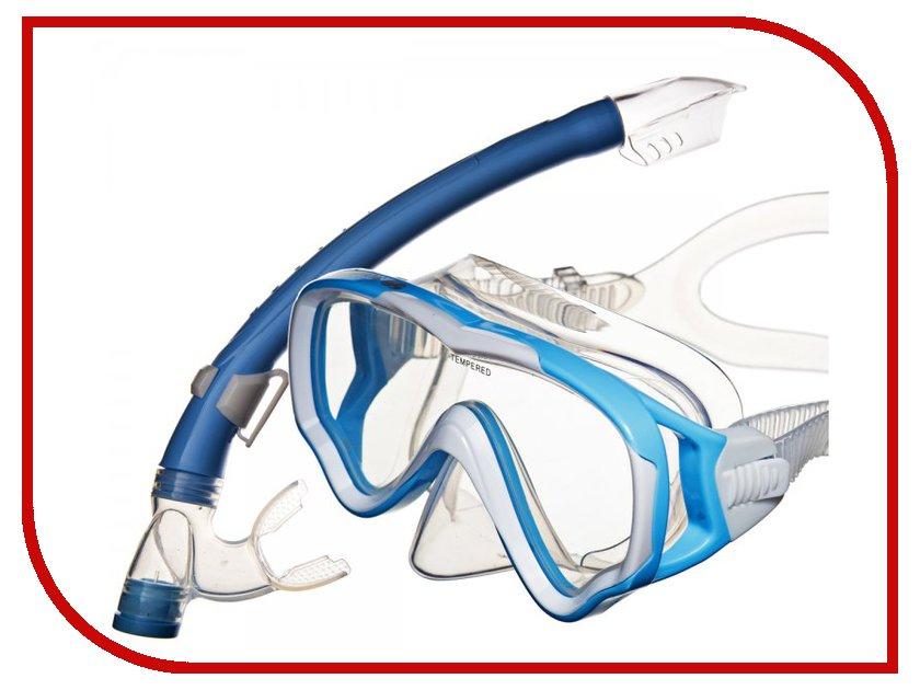 Аксессуар Sargan Маугли маска+трубка Blue MS10-SP20BB
