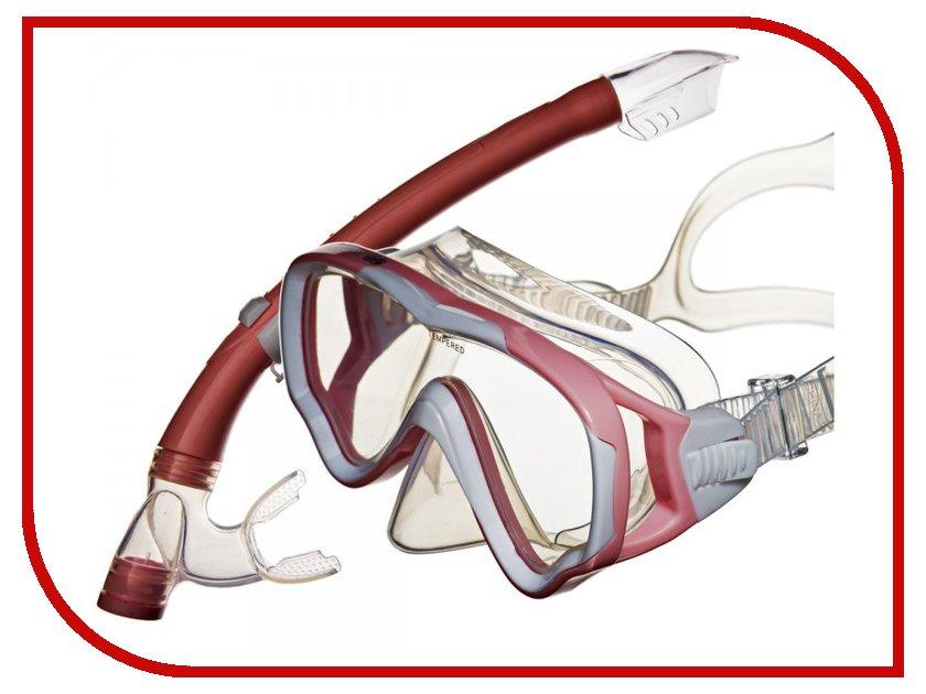Аксессуар Sargan Маугли маска+трубка Pink MS10-SP20P