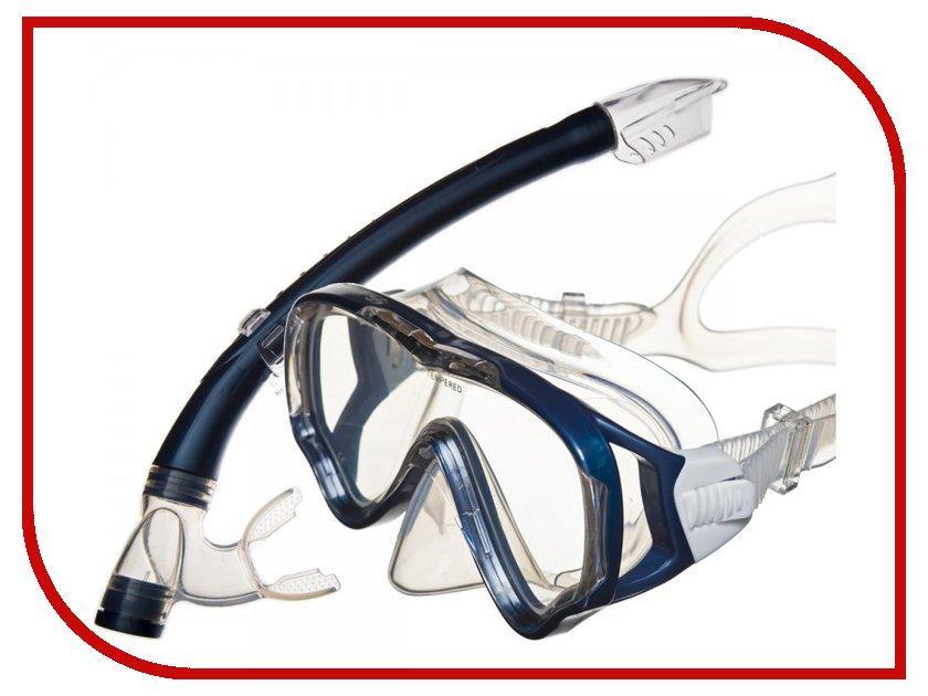 Набор маска + трубка Sargan Маугли Dark Blue MS10-SP20PBL стоимость
