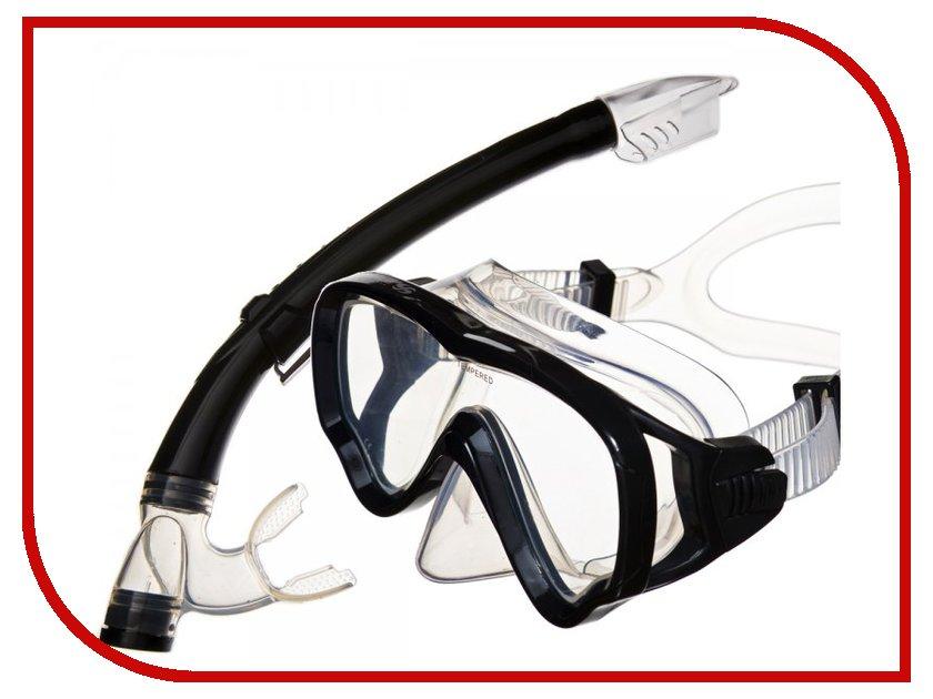 Аксессуар Sargan Маугли маска+трубка Black MS10-SP20PBK