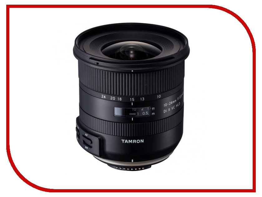 Объектив Tamron Canon EF-S 10-24 mm F/3.5-4.5 Di II VC HLD B023E smith bearing mcrv 22 s cam follower needle roller bearing single row stud type full complement sealed 22 mm