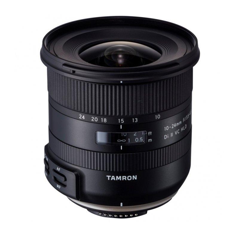 Объектив Tamron Canon EF-S 10-24 mm F/3.5-4.5 Di II VC HLD B023E объектив tamron 28 300мм f 3 5 6 3 di vc pzd canon a010e