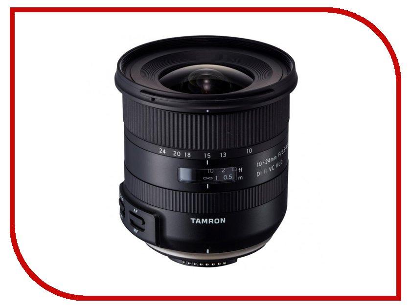 Фото - Объектив Tamron Nikon F 10-24 mm F/3.5-4.5 Di II VC HLD B023N meike fc 100 for nikon canon fc 100 macro ring flash light nikon d7100 d7000 d5200 d5100 d5000 d3200 d310