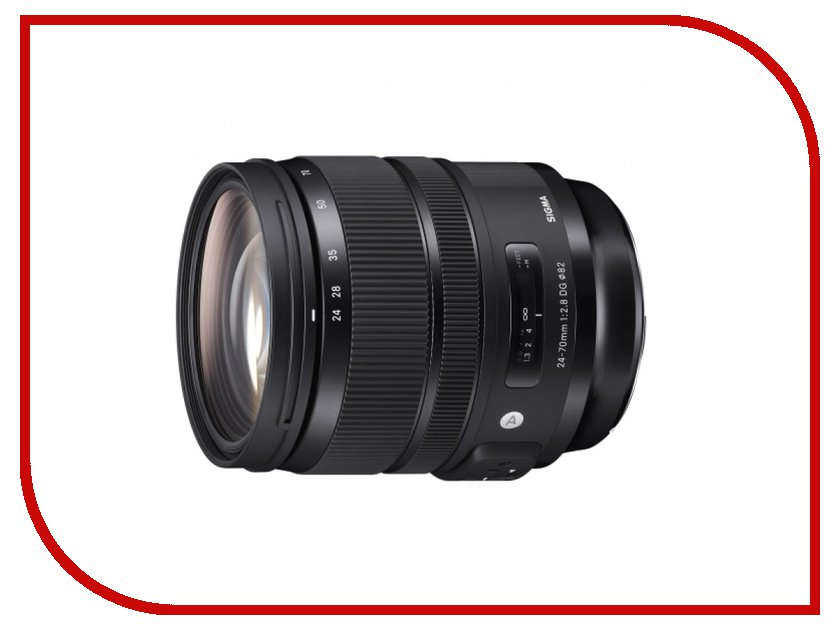 Объектив Sigma Canon AF 24-70 mm F/2.8 DG OS HSM Art EF объектив sigma af 24mm f1 4 dg hsm art canon