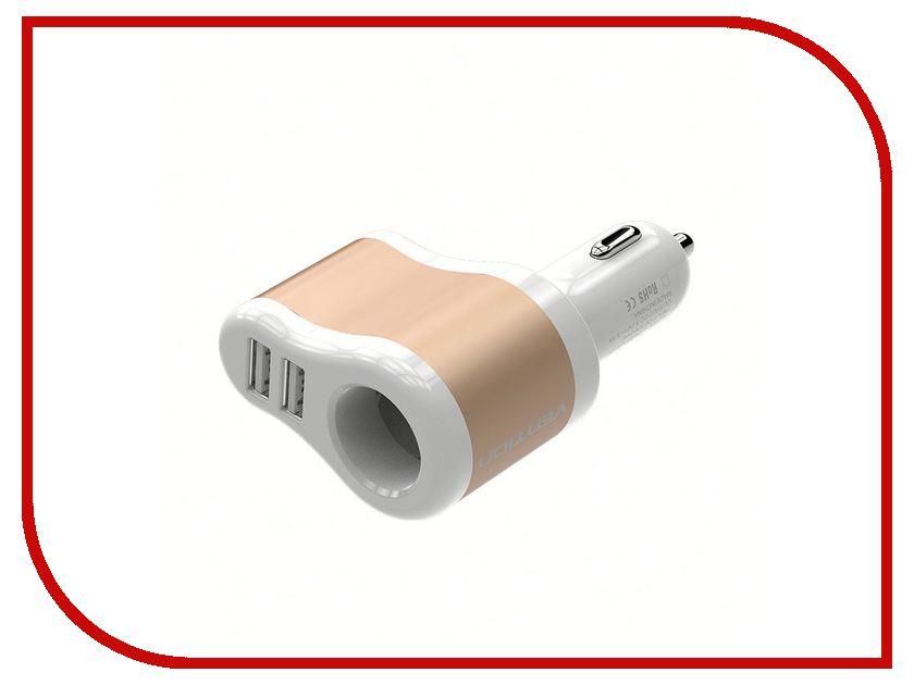 Зарядное устройство Vention 2xUSB 3.1A AF CJBW0