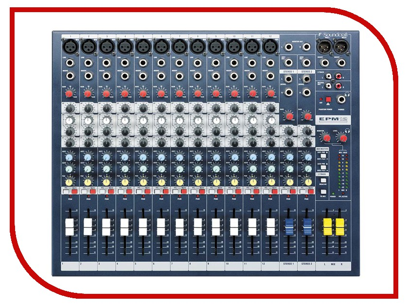 Пульт Soundcraft EPM12