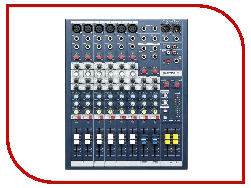 Пульт Soundcraft EPM6 плата расширения soundcraft sio usb firewire