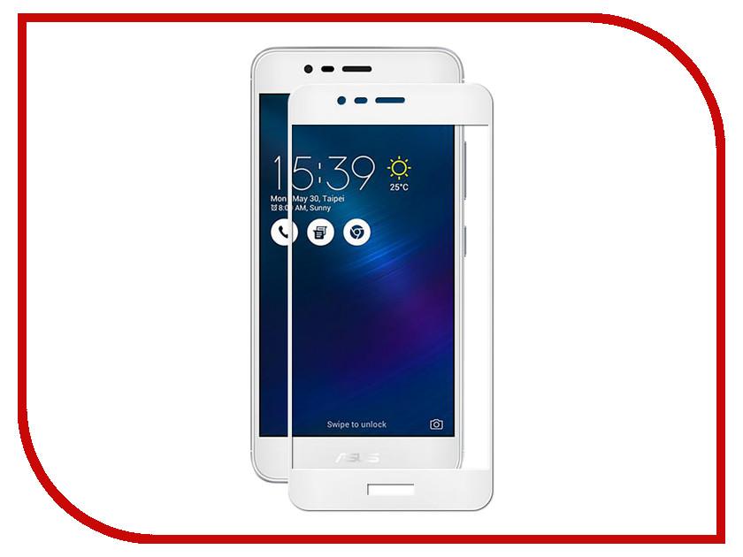 Аксессуар Защитное стекло ASUS ZenFone 3 Max ZC520TL Onext с рамкой White 41304
