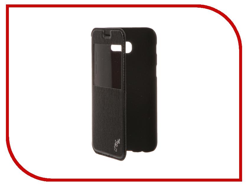 Аксессуар Чехол для Samsung Galaxy A5 2017 SM-A520F G-Case Slim Premium Black GG-796 чехол для samsung galaxy a5 2017 sm a520f gecko flip case белый