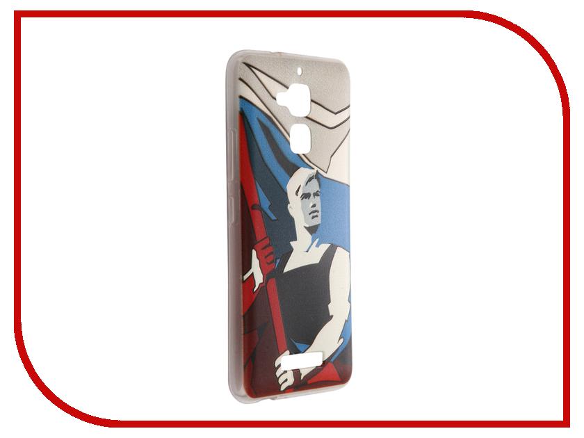 Аксессуар Чехол ASUS Zenfone 3 Max ZC520TL CaseGuru Коллекция Патриотизм рис 4 89290