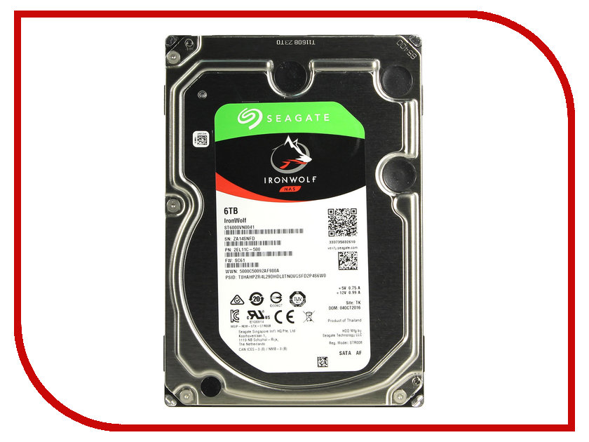 Жесткий диск 6Tb - Seagate IronWolf ST6000VN0041 st1000vn002 seagate