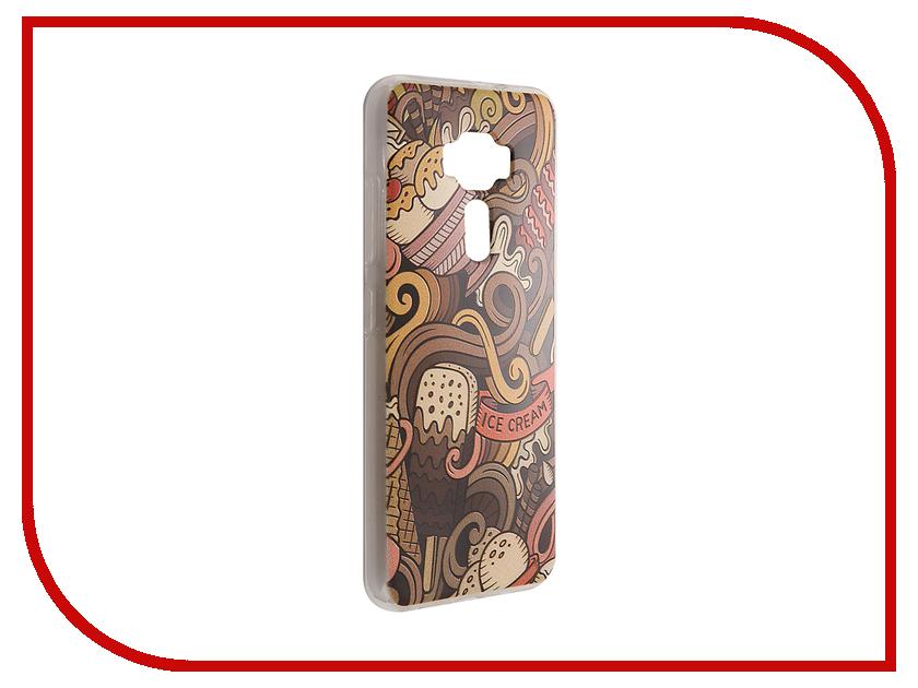 Аксессуар Чехол ASUS Zenfone 3 ZE520KL CaseGuru Коллекция Узоры рис 6 89378 shengo electroplated tpu phone case for iphone 7 4 7 inch rhinestone decoration water drop pattern gold edge