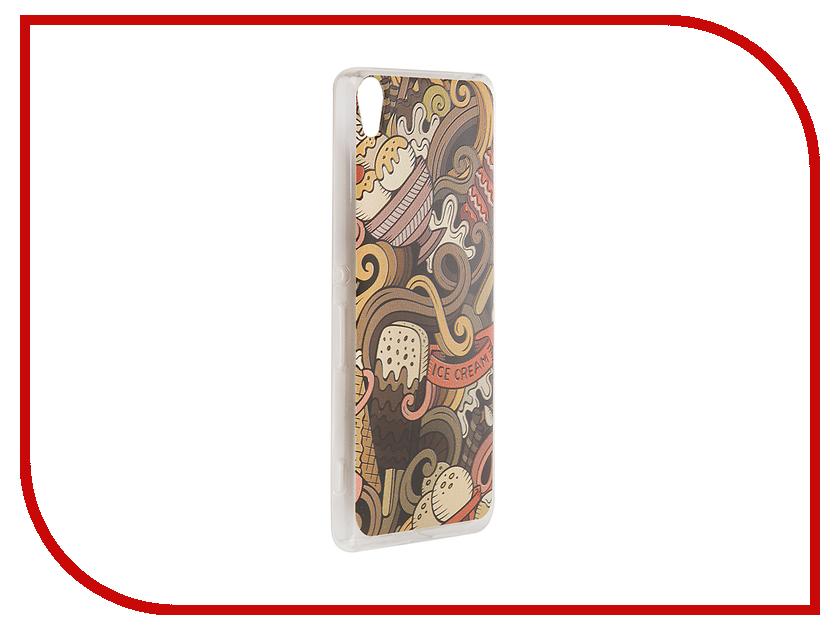 Аксессуар Чехол Sony Xperia XA CaseGuru Коллекция Узоры рис 6 89042