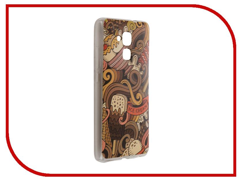 Аксессуар Чехол Huawei Honor 5C CaseGuru Коллекция Узоры рис 6 90098
